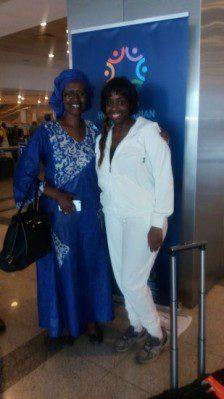 Winnie Byanyima and Angella Katatumba met in Turkey