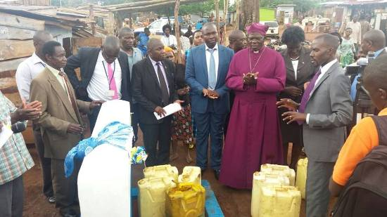 NWSC commissions water in Jinja last week