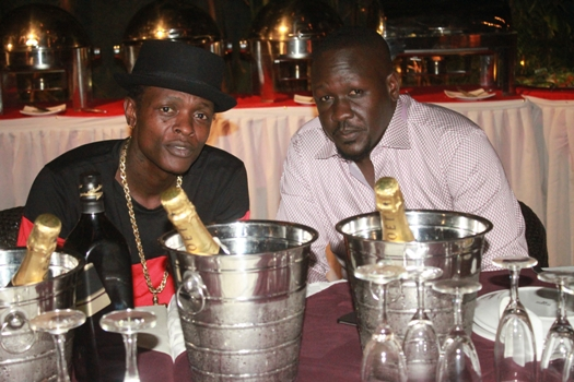 Jose Chameleone joined Denis Opio as he made another year to his life
