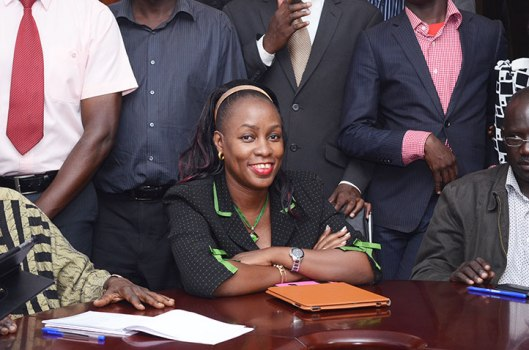 Florence Nakiwala Kiyingi is the new chairperson of Express FC