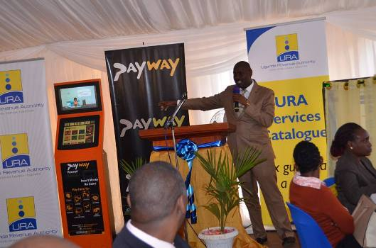 URA launched Payway services yesterday
