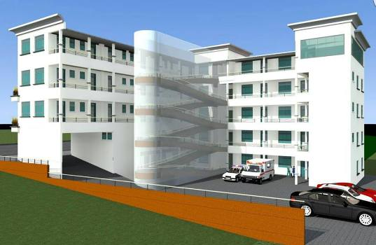 How Nu-Shifah Hospital will look like when complete