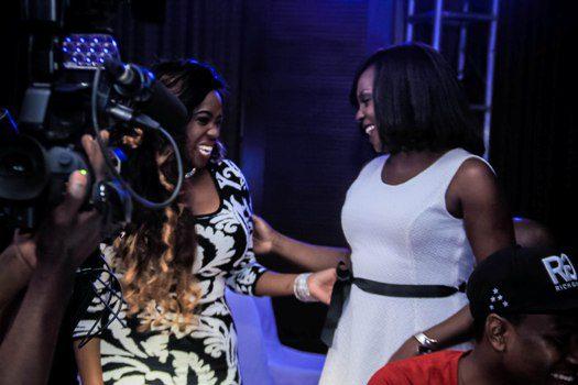 Angella Katatumba and Iryn Namubiru