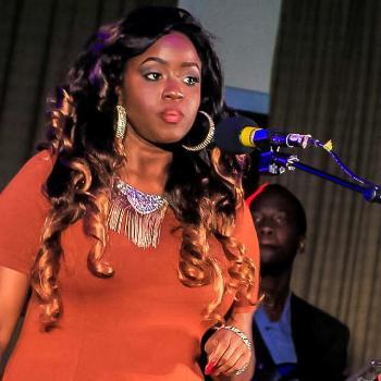 Angella Katatumba during her Mulago Yaffe concert