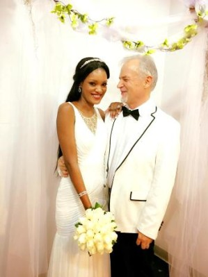Aysha and Sigler at their wedding