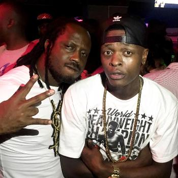 Bebe Cool and Jose Chameleone