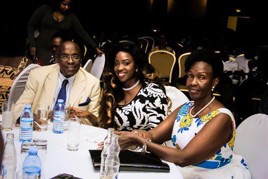 Boney Katatumba, Angella Katatumba and her mum