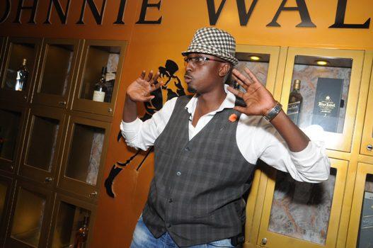 Marcus Kwikiriza, one of Johnnie Walker's Brand Ambassadors in Uganda during the mentoring session