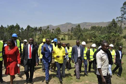 NWSC recently launched new Water Project in Kitagata to boost water in pressure in the areas on Bushenyi and Sheema