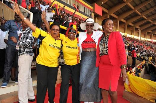 First Lady Janet Museveni was the chief guest