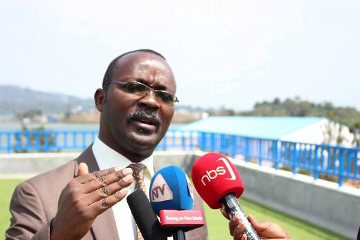 NWSC MD Eng. Silver Mugisha announced the shutdown