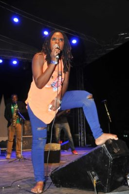 Jemima Sanyu proves to funs that she can perform