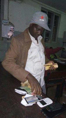 Buryo David was found with Shs3m cash in his pocket