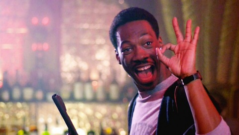 A young Eddie Murphy does his thing back in the days