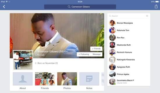 Cameroon Gitawo's official Facebook Account