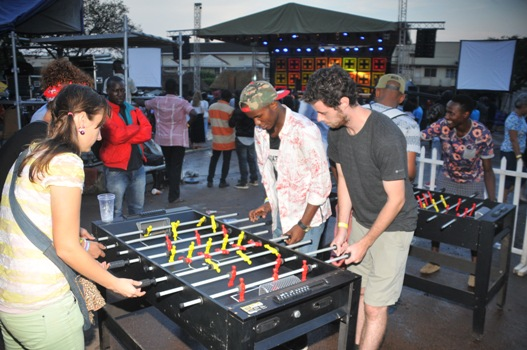 revellers-playing-foosball-at-the-bell-tent