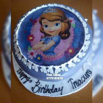 One of Sharon's cakes