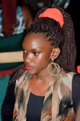 Fille Mutoni has denied beating Kats on a National TV