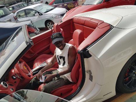 SK Mbuga's Ferrari