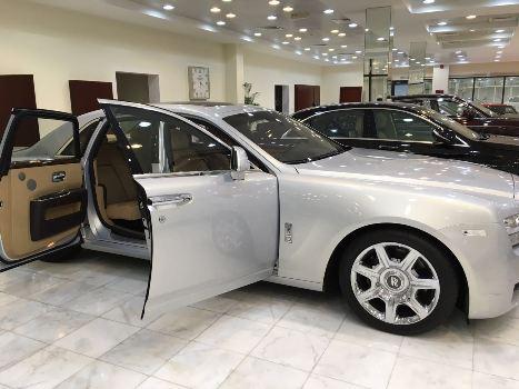 SK Mbuga has bought Rolls Royce