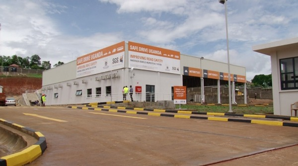 SGS opens a new Vehicle Inspection Station on Kampala-Masaka