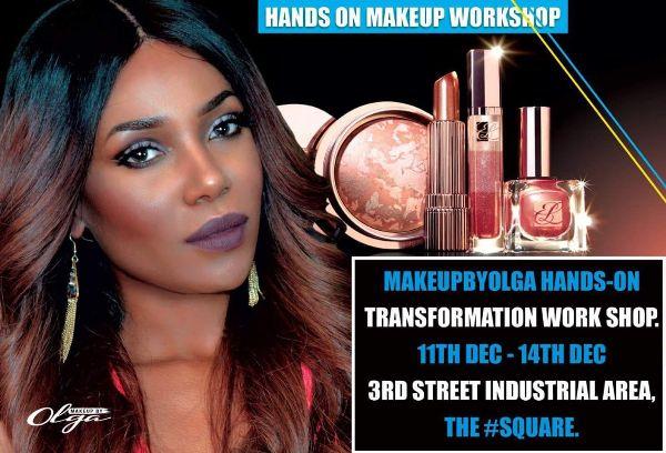 Olga introduces Hands On Makeup Workshop