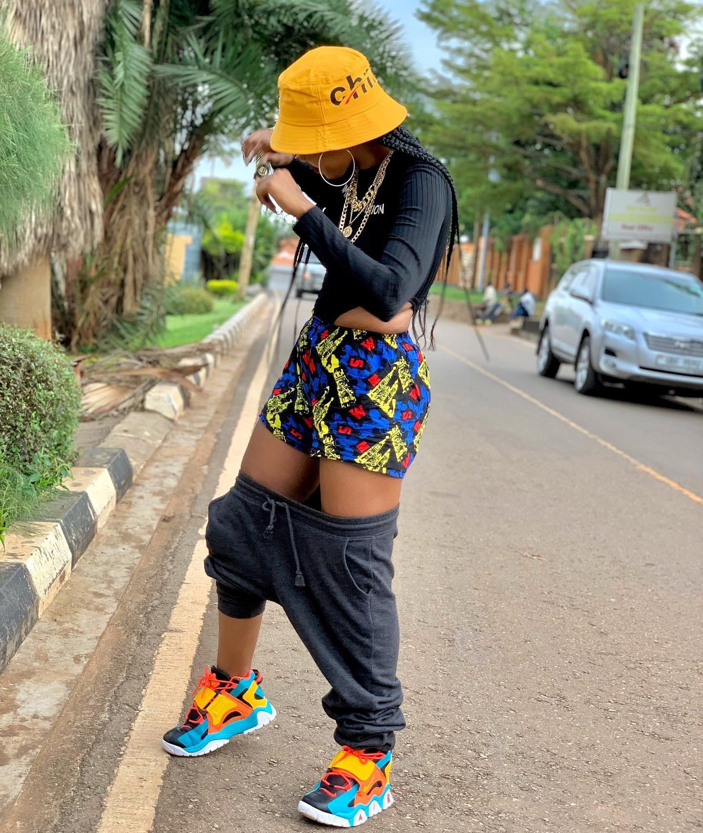 Spice Diana trolled by fans over Pants down Challenge – Showbizuganda